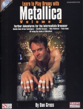 Learn To Play Drums With Metallica Volume 2 + Cd - Drums