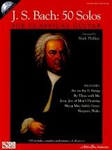 J.s. Bach 50 Solos For Classical Guitar + Cd - Guitar