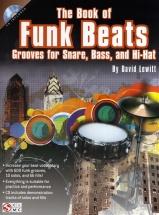 David Lewitt The Book Of Funk Beats Drums + Cd - Drums