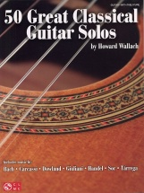 50 Great Classical Guitar Solos - Guitar Tab