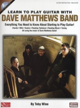 Learn To Play Guitar With Dave Matthews Band Tab + Cd - Guitar