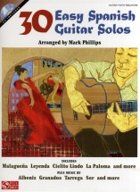 30 Easy Spanish Guitar Solos + Cd - Guitar