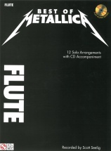 Best Of Metallica + Cd - Flute