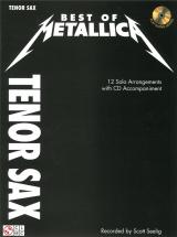 Best Of Metallica Tenor Sax + Cd - Tenor Saxophone