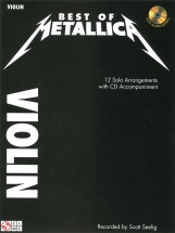 Best Of Metallica Violin + Cd - Violin