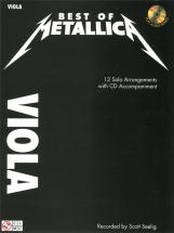 Best Of Metallica + Cd - Viola