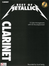 Best Of Metallica + Cd - Clarinet