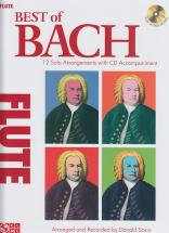 Bach J.s. - Best Of Bach + Cd - Flute