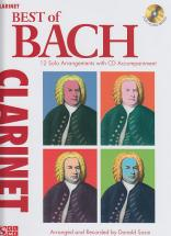 Bach J.s. - Best Of Bach + Cd - Clarinette