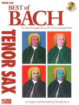 Best Of Bach Tenor Sax Solos + Cd - Tenor Saxophone