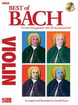 Bach J.s. - Best Of Bach + Cd - Violon