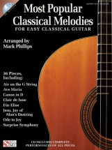 Most Popular Classcal Melodies + Cd - Classical Guitar