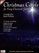 Christmas Carols For Easy Guitar + Cd - Classical Guitar