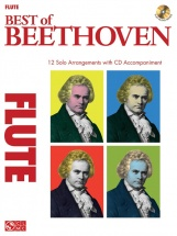 Instrumental Play-along Best Of Beethoven + Cd - Flute