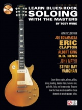 Learn Blues/rock Soloing With The Masters + Cd - Guitar Tab
