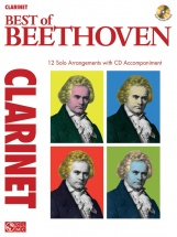 Instrumental Play-along Best Of Beethoven + Cd - Clarinet