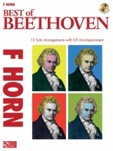 Instrumental Play-along Best Of Beethoven + Cd - Horn