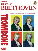Instrumental Play-along Best Of Beethoven + Cd - Trombone