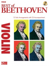 Instrumental Play-along Best Of Beethoven Violin + Cd - Violin