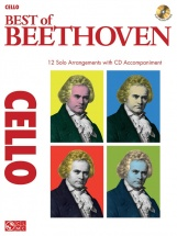 Instrumental Play-along Best Of Beethoven + Cd - Cello