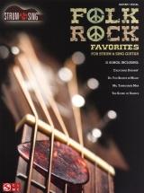 Folk Rock Favorites Strum And Sing Easy Guitar - Lyrics And Chords