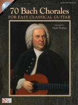 70 Bach Chorales For Easy Classical Guitar + Cd - Guitar