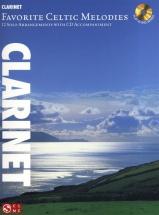 Favorite Celtic Melodies 12 Solo Arrangements + Cd - Clarinet