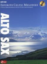 Favorite Celtic Melodies 12 Solo Arrangements + Cd - Alto Saxophone