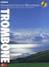 Favorite Celtic Melodies 12 Solo Arrangement + Cd - Trombone