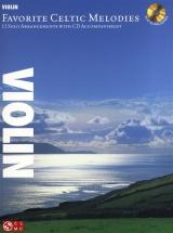 Favorite Celtic Melodies 12 Solo Arrangements + Cd - Violin