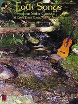 Folk Songs For Solo + Cd - Guitar Tab