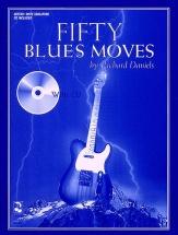 Richard Daniels - Fifty Blues Moves + Cd - Guitar Tab