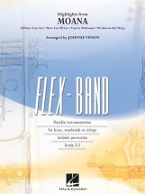 Disney - Highlights From Moana - Flex-band Series