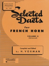Voxman Himie - Selected Duets For French Horn Volume 2 - Advanced
