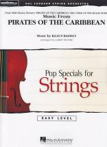 Music From Pirates Of The Caribbean - Pop Specials For Strings Easy Level