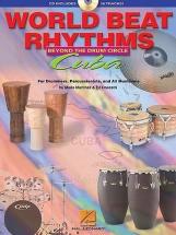 World Beat Rhythms Cuba Latin Perc + Cd - Beyond The Drum Circle - Latin Percussion