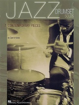 Jazz Drumset Solos 7 Contemporary Pieces - Drums