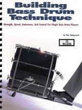 Spagnardi Ron Building Bass Drum Technique Drums + Cd - Drums