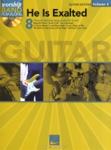 Worship Band Play-along Volume 4 He Is Exalted Guitar Tab + Cd - Voice