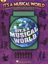 It's A Musical World Songs Dances Fun Facts + Cd - World