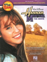 Lets All Sing Hannah Montana The Movie Young Vces Piano Vocal Teacher - Pvg