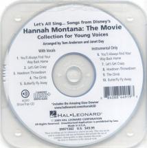 Lets All Sing Hannah Montana Performance Accompaniment Cd - Voice