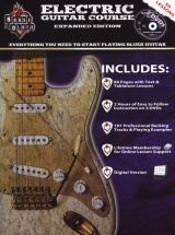 Rock House House Of Blues Electric Guitar Course Bk/2dvd - Guitar Tab