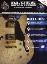 Blues Guitar Course + 2dvd - Guitar