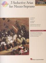 3 Seductive Arias For Mezzo-soprano + Cd