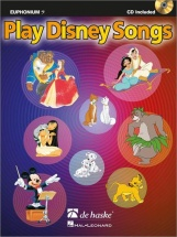 Play Disney Songs - Euphonium Cle De Fa + Cd