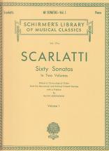 Scarlatti D. - 60 Sonatas Vol. 1 - Clavecin (piano)