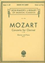 Mozart - Concerto K.622 - Clarinet And Piano
