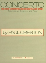 Creston P. - Concerto For Alto Saxophone And Orchestra