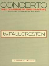 SAXOPHONE Saxophone et Orchestre : Livres de partitions de musique